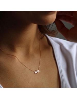 گردنبند طرح ستاره