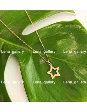 گردنی طرح ستاره (بدون زنجیر)