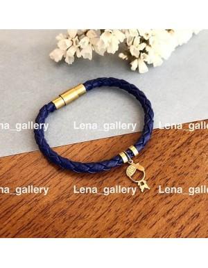 دستبند طرح پسر با حك اسم خان