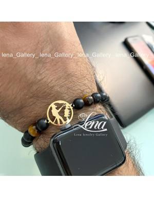 دستبند مردانه رمز