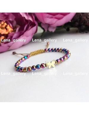 دستبند-طرح-پروانه