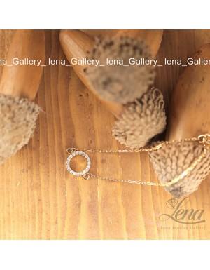دستبند مروارید طرح دو ردیف کارتیر