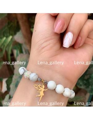 دستبند-آویزی-طرح-فرشته-
