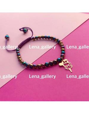 دستبند-طرح-دختر