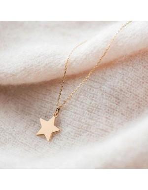 گردنبند طرح ستاره بدون زنجیر